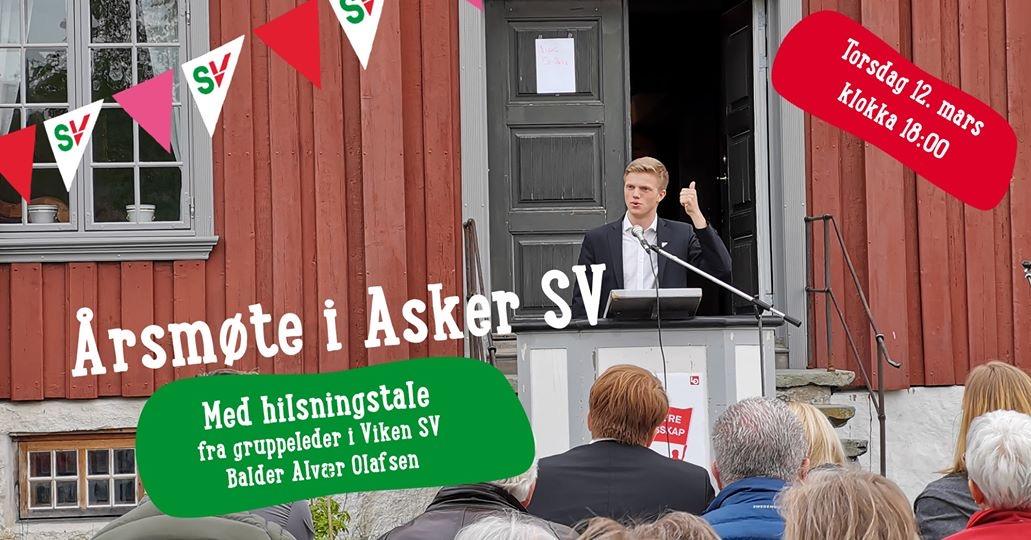 Årsmøte Asker SV