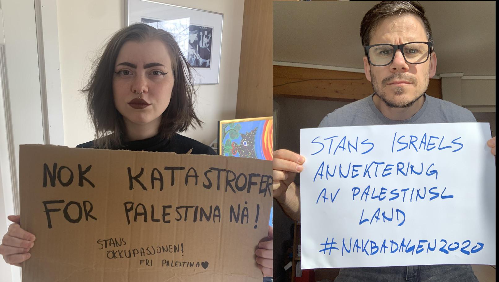 Nok katastrofer for Palestina