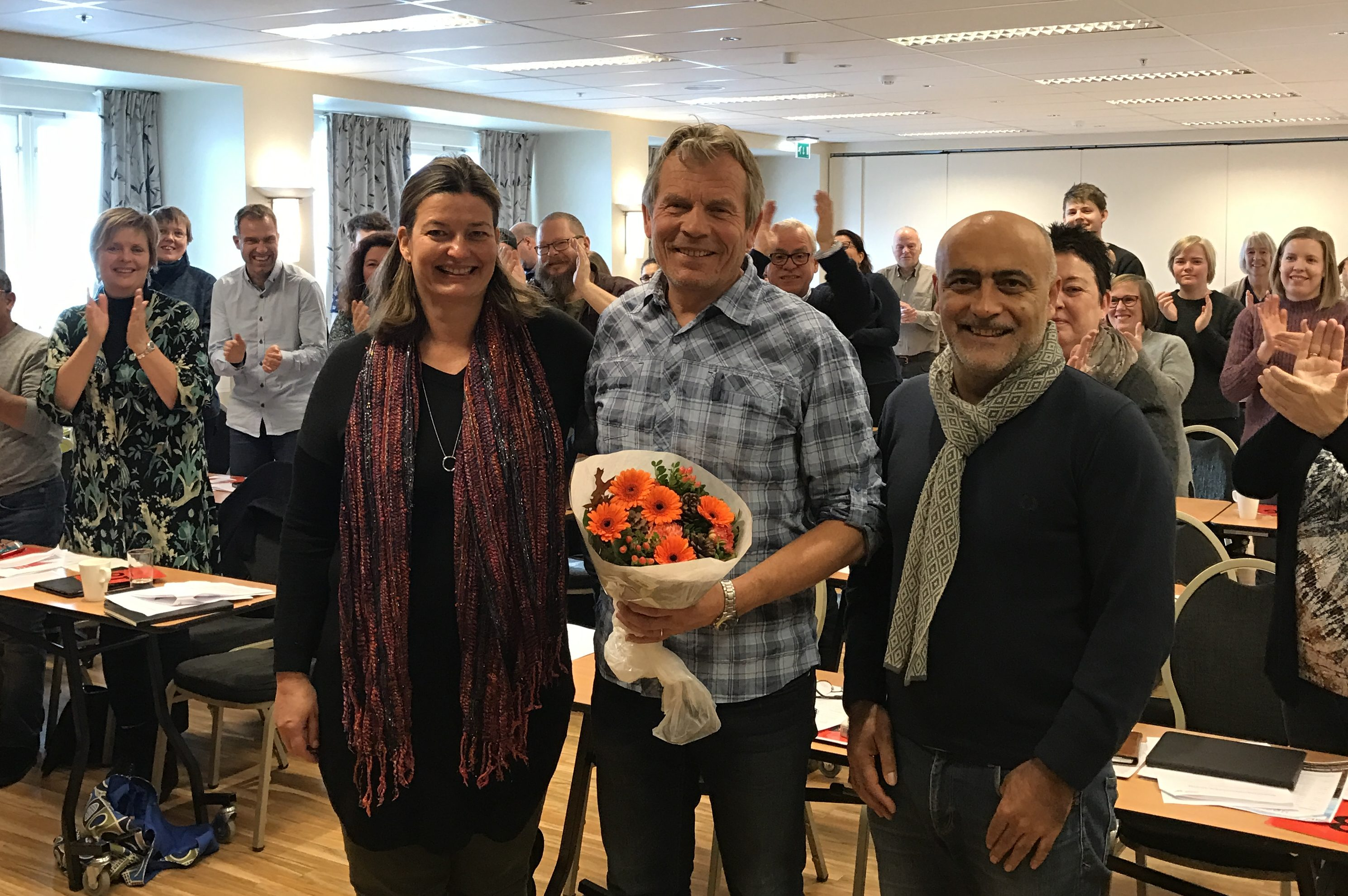 Arne Nævra topper Buskerud SVs stortingsliste
