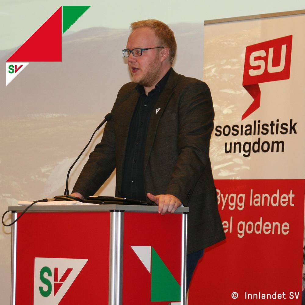 Rød og grønn politikk i hele Innlandet