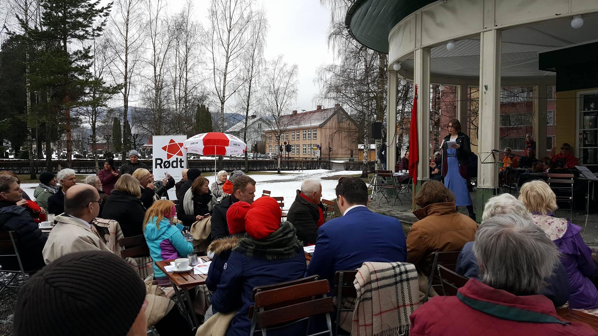 Årets 1.mai feiring i Lillehammer