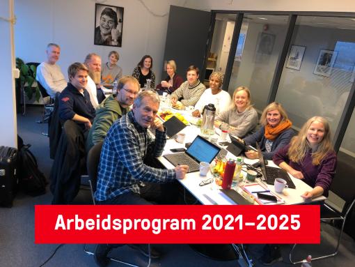 SV sitt førsteutkast til arbeidsprogram 2021-2025 er klart – kutte, bygge, dele!