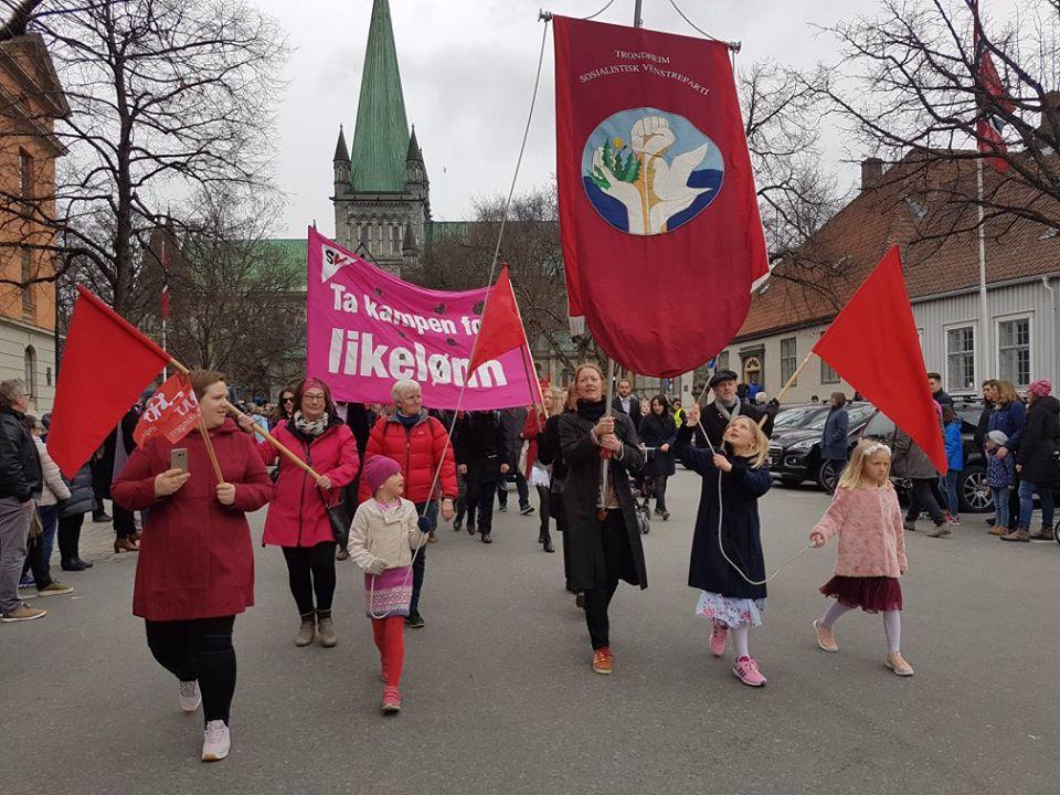 1. mai med SV i Trøndelag 2021