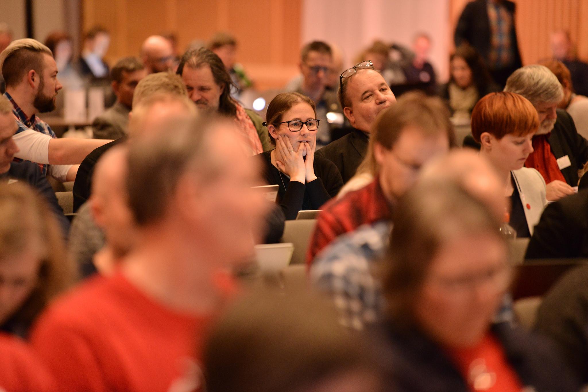 Folkevalgt og organisasjonskonferanse i Larvik 28.-29. oktober