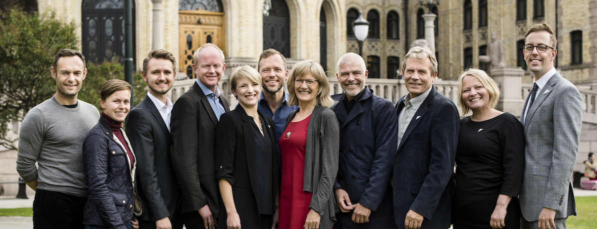 SVs stortingsgruppe 2017-2021. Foto