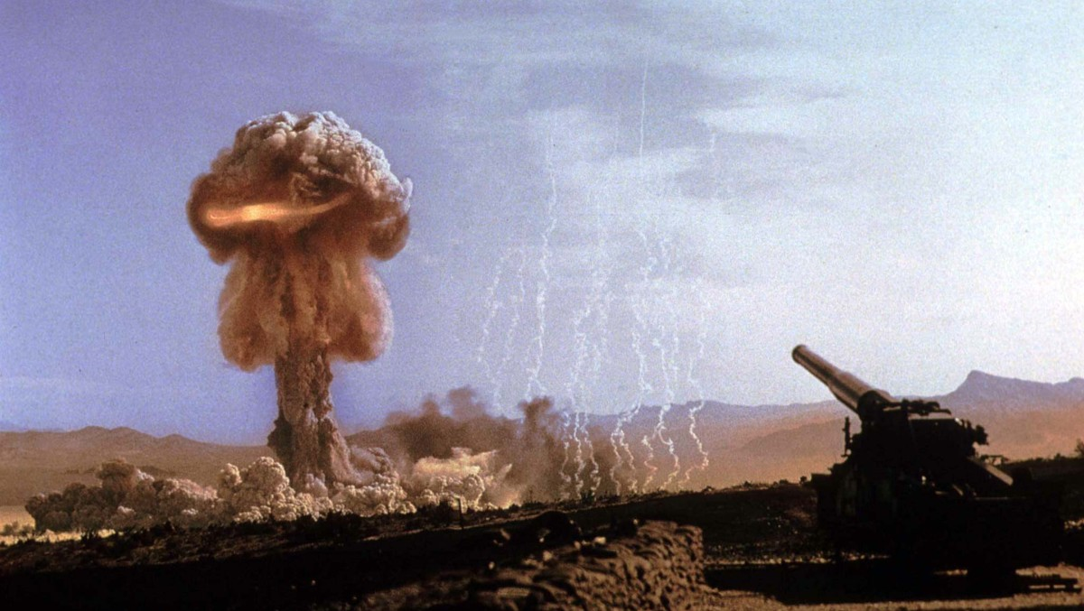 Soppsky fra atombombe. Foto