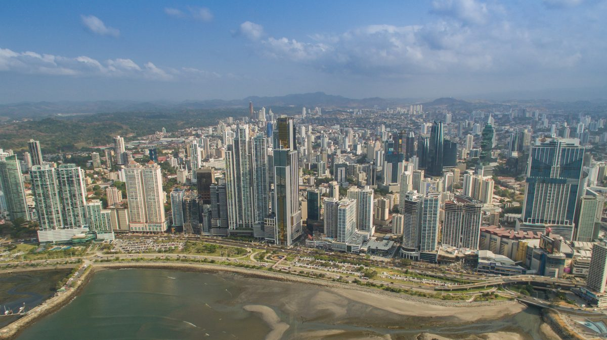 Skatteparadiset Panama City. Foto