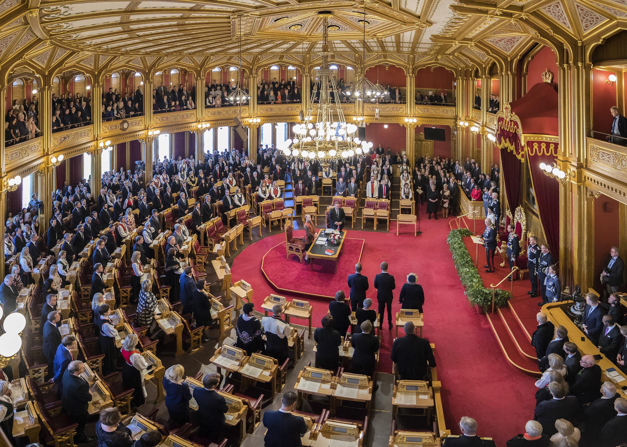 Foto: Hans Kristian Thorbjørnsen/Stortinget
