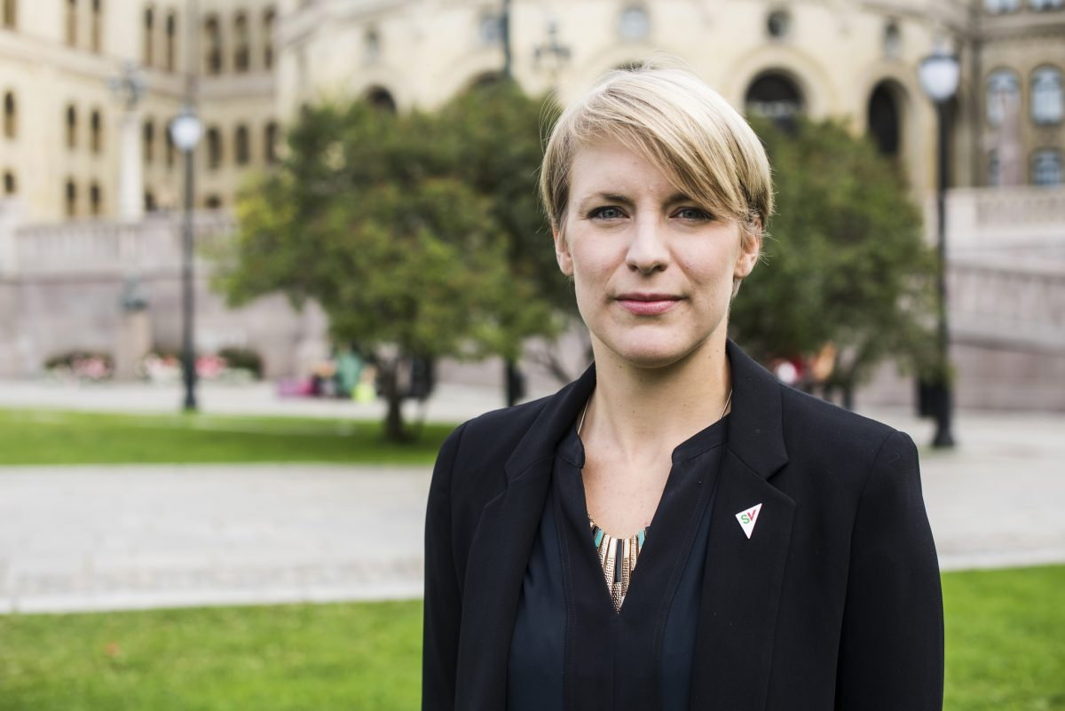 Kari Elisabeth Kaski. Foto: SV