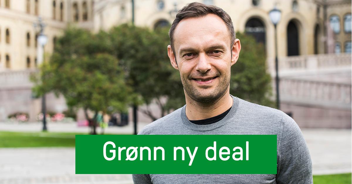 Vi vil ha dine innspill til Grønn ny deal